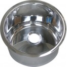 Cylindrical Undermount/Weld In Stainless Steel Hand Basin (⌀300mm)