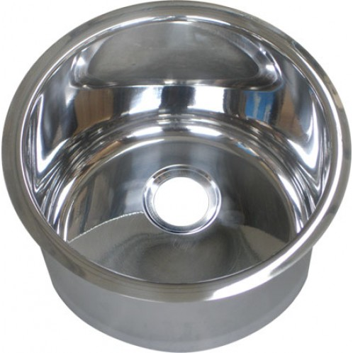 Cylindrical Undermount/Weld In Stainless Steel Hand Basin (⌀260mm)